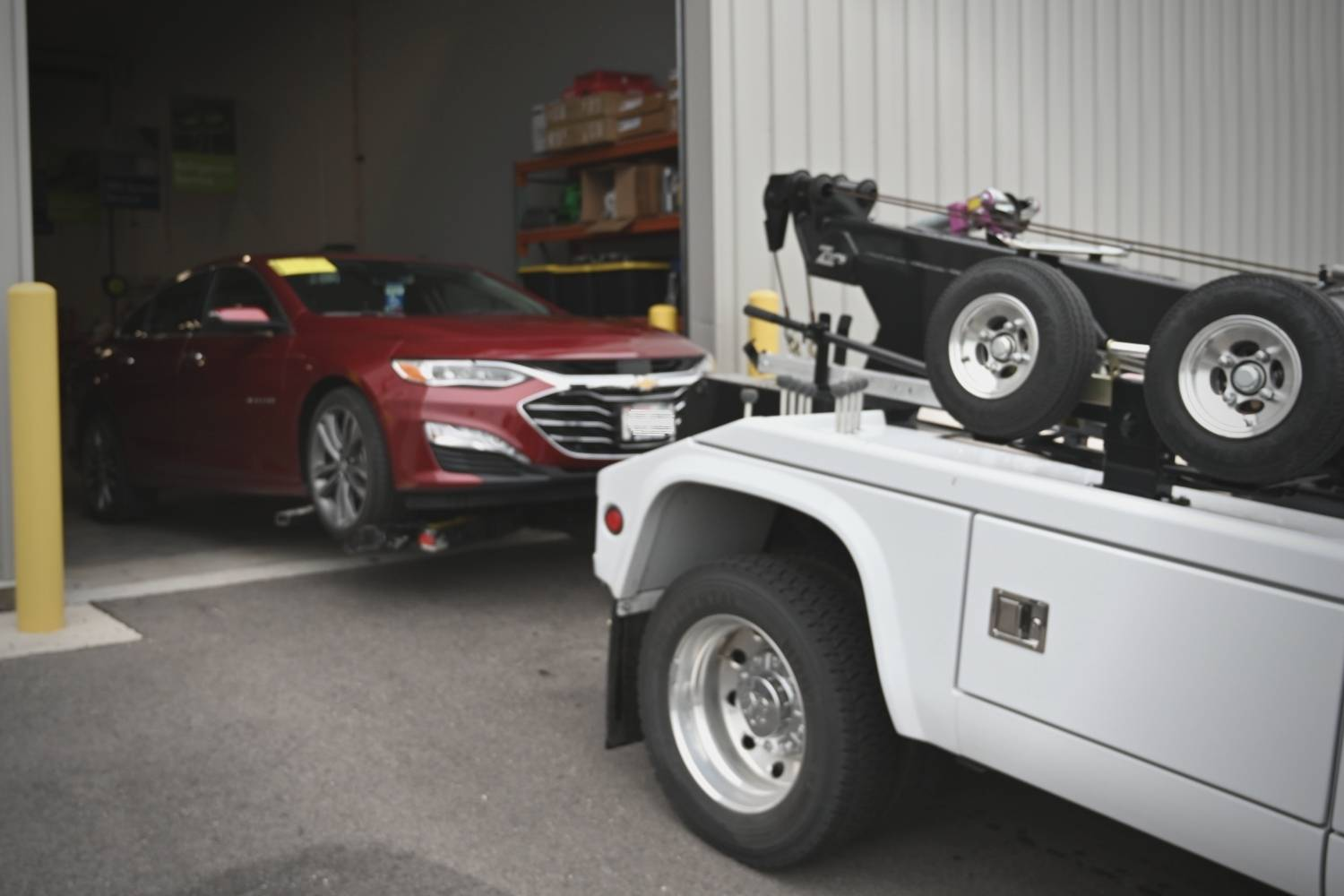 Precision Diagnostics Towing & Relocation Services